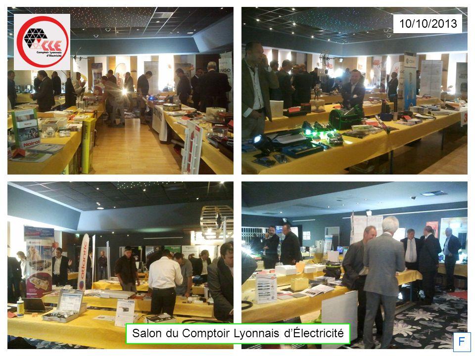 10/10/2013 Salon du Comptoir Lyonnais dÉlectricité F