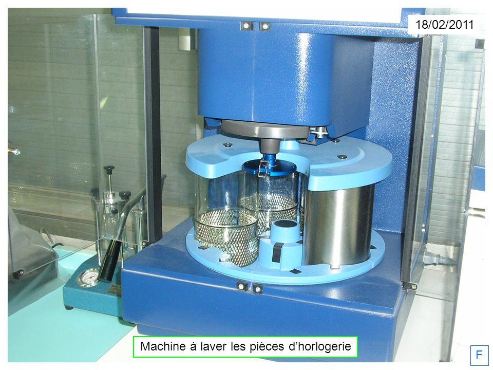 18/02/2011 Machine à laver les pièces dhorlogerie F