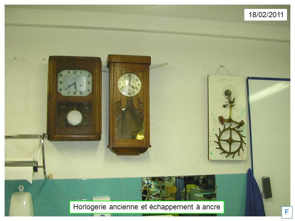 18/02/2011 Horlogerie ancienne et échappement à ancre F