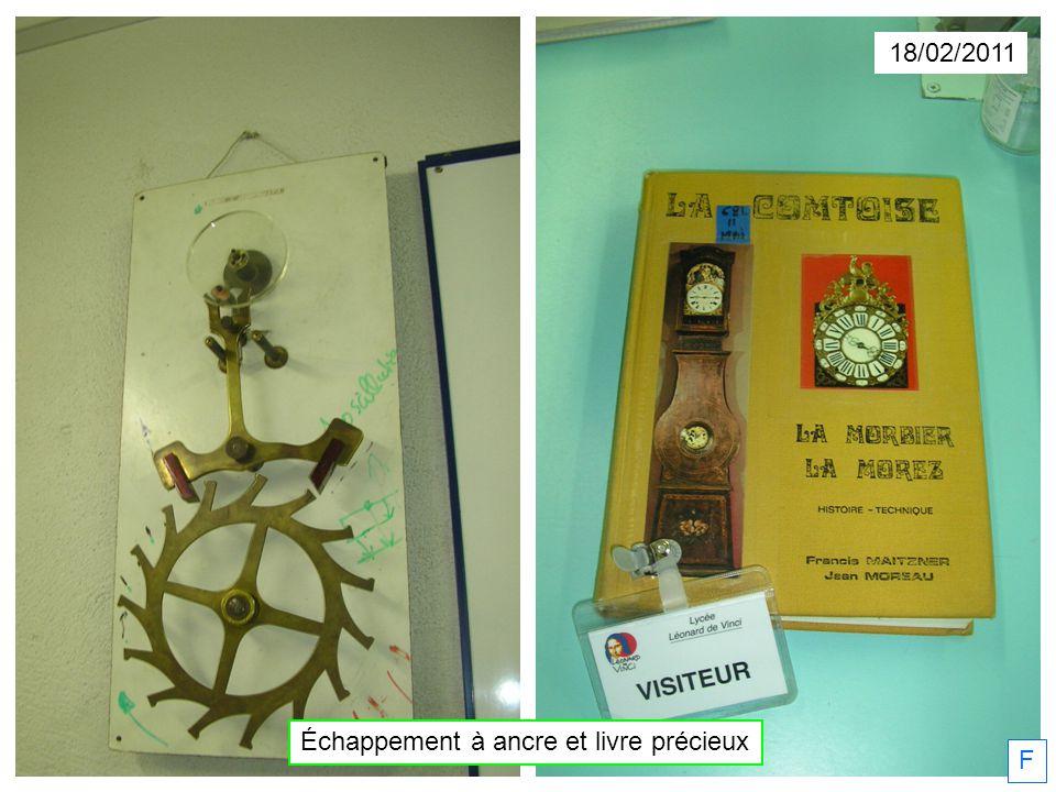 18/02/2011 Échappement à ancre et livre précieux F