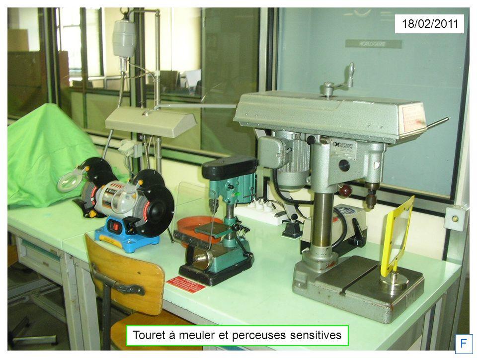 18/02/2011 Touret à meuler et perceuses sensitives F