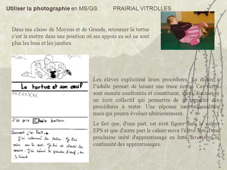 Les élèves explicitent leurs procédures. La dictée à ladulte permet de laisser une trace écrite. Ces écrits sont ensuite confrontés et constituent, ap