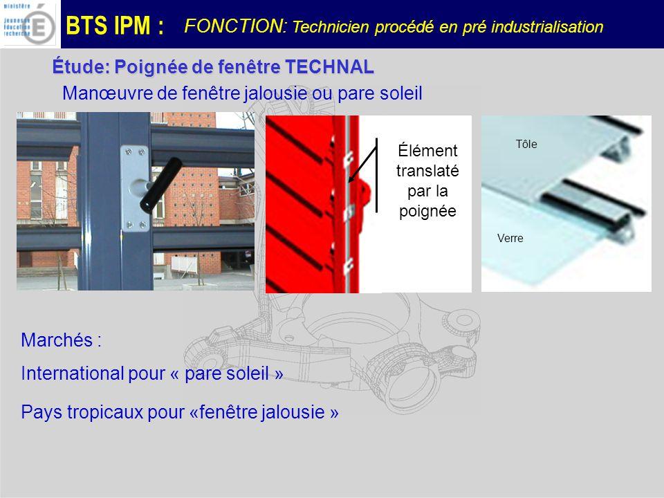 BTS IPM : Embarreur centre CHIRON Poupée réglable support de barre Poupée mobile tirage de barre Sciage de la barre Zone dusinage BROCHE FONCTION: Technicien procédé en pré industrialisation