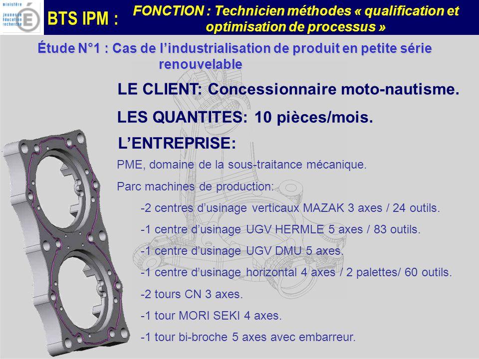 BTS IPM : FONCTION : Technicien méthodes « qualification et optimisation de processus » Carter Sélecteur embrayage DUCATI Carter Sélecteur embrayage DUCATI