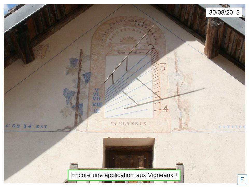 30/08/2013 F Encore une application aux Vigneaux !