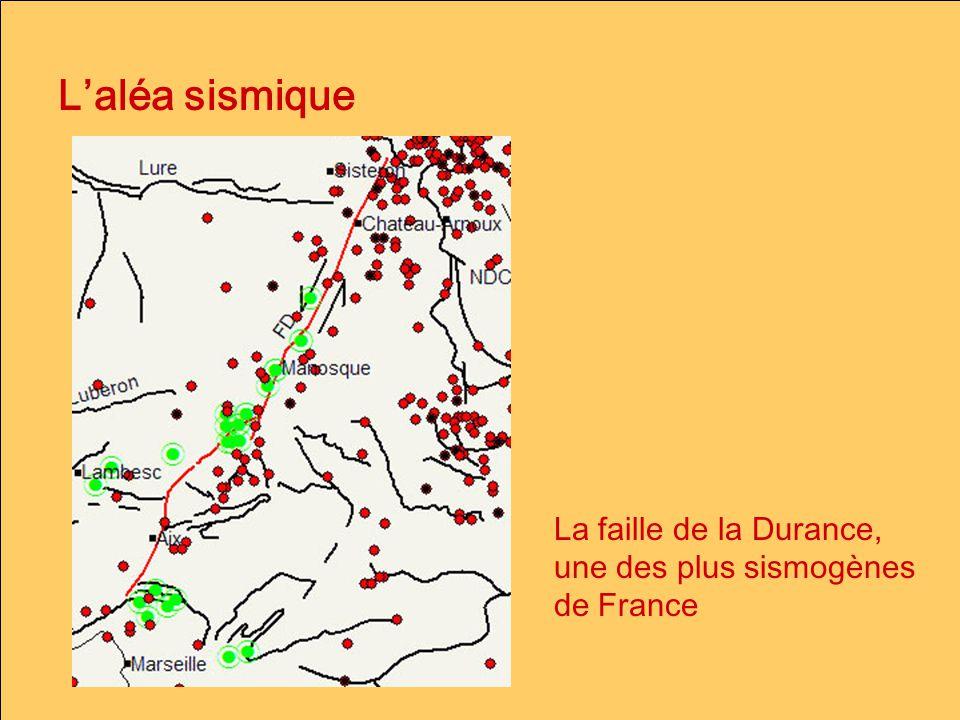 Laléa sismique La faille de la Durance, une des plus sismogènes de France
