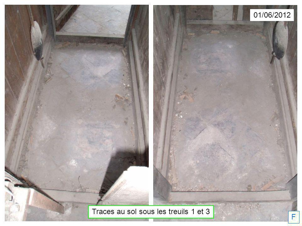 01/06/2012 F Traces au sol sous les treuils 1 et 3