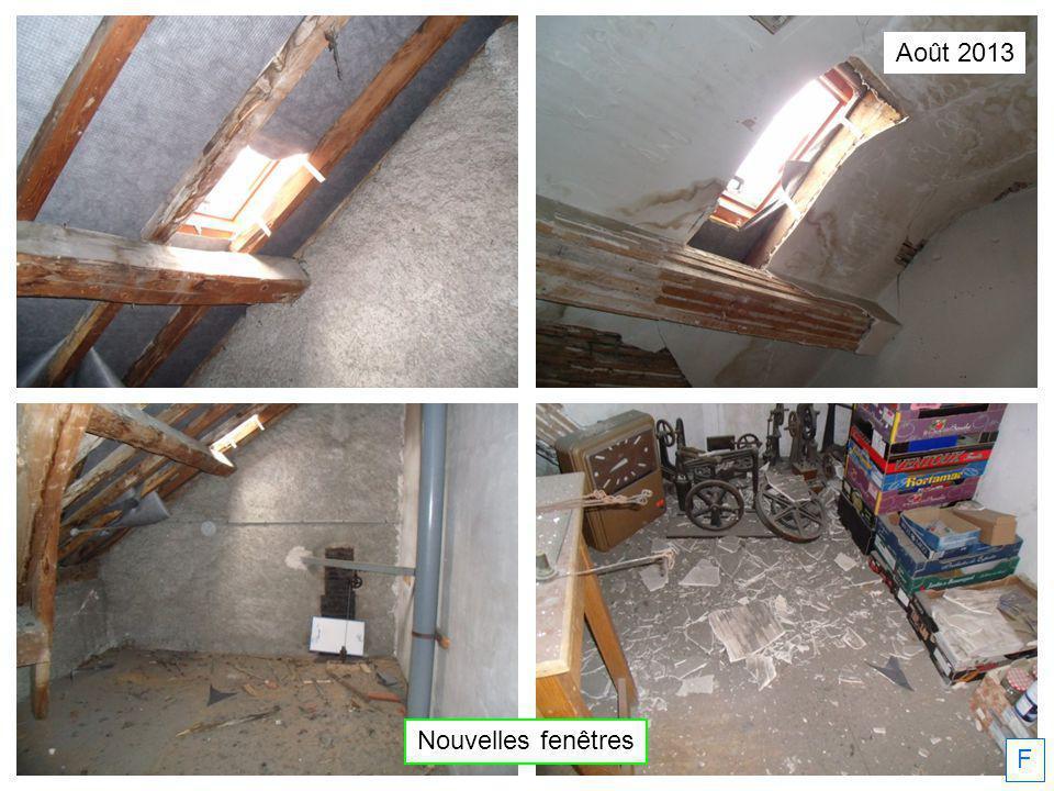 Août 2013 Nouvelles fenêtres F
