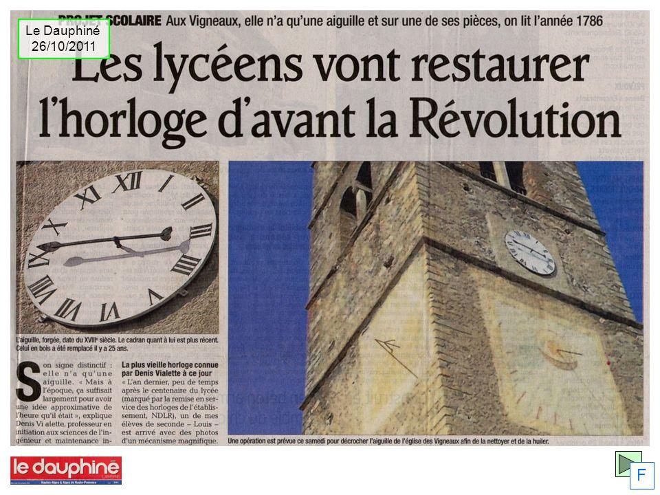 Le Dauphiné 26/10/2011 F