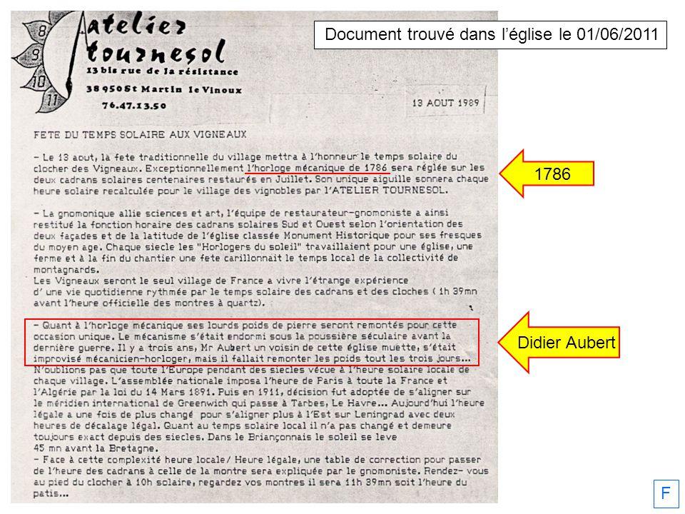 Projet dYves Cordier pour arrêter la sonnerie la nuit 03/11/2011 F
