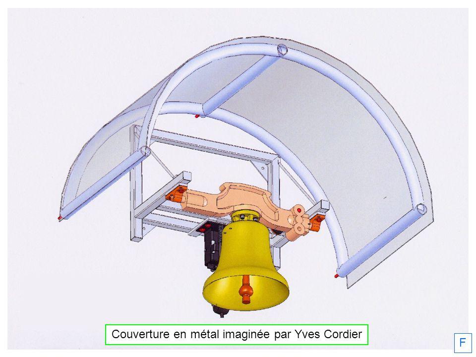 Couverture en métal imaginée par Yves Cordier F