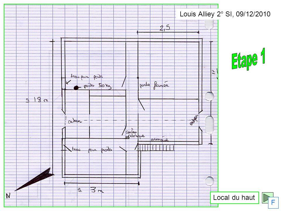 Local du haut F Louis Alliey 2° SI, 09/12/2010