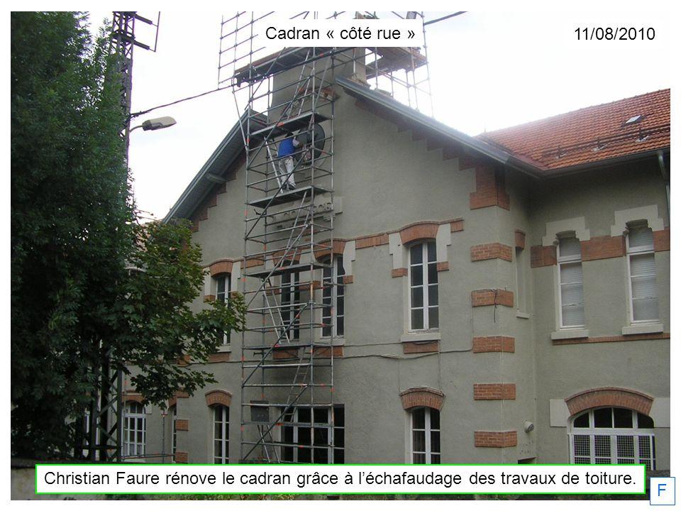 Dimanche 03/03/2011 Christian Faure fignole. F Cadran « côté rue »