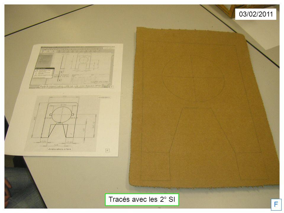 F 03/02/2011 Tracés avec les 2° SI