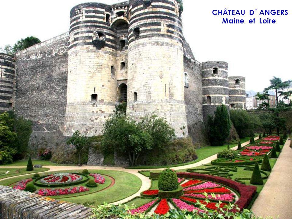 CHÂTEAU D´ AZAY LE RIDEAU Indre et Loire