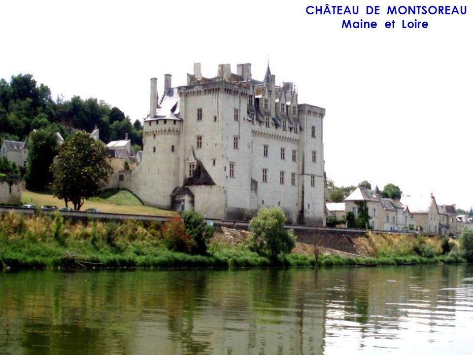 CHÂTEAU DES BRIOTTÈRES Maine et Loire