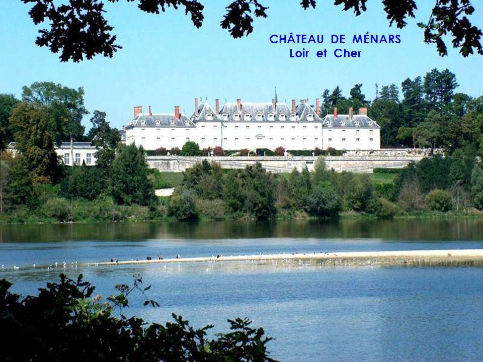 CHÂTEAU DE VILLESAVIN Loir et Cher