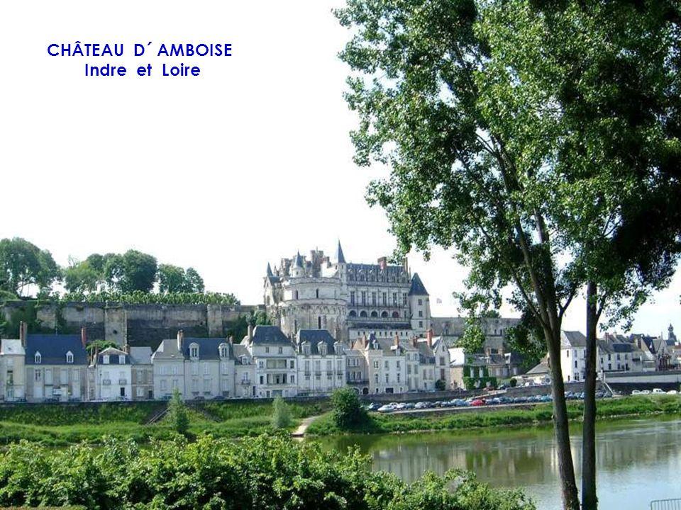 CHÂTEAU D´ AMBOISE Indre et Loire