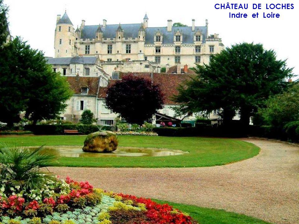 CHÂTEAU DE BENAIS Indre et Loire