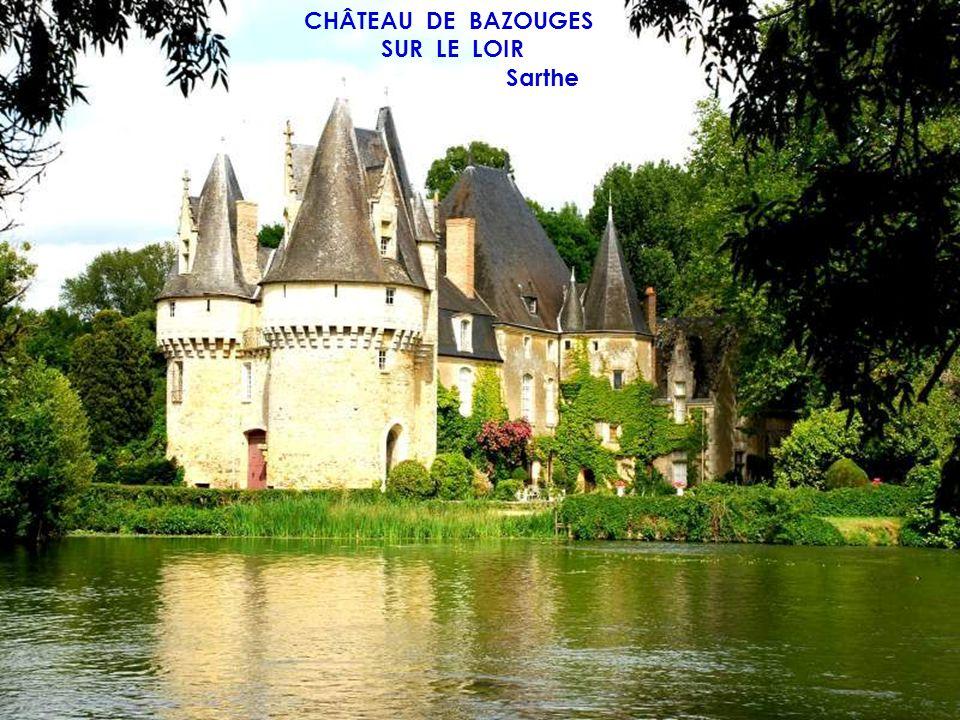 CHÂTEAU DE SAINT PATERNE Sarthe