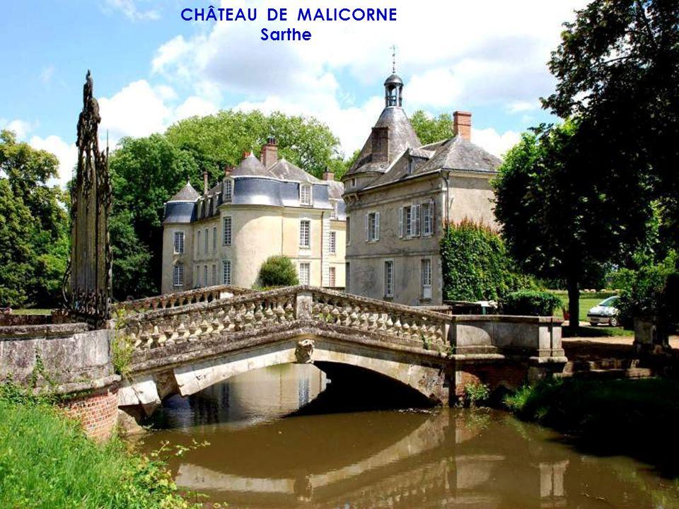 CHÂTEAU DE GRAND LUCÉ Sarthe