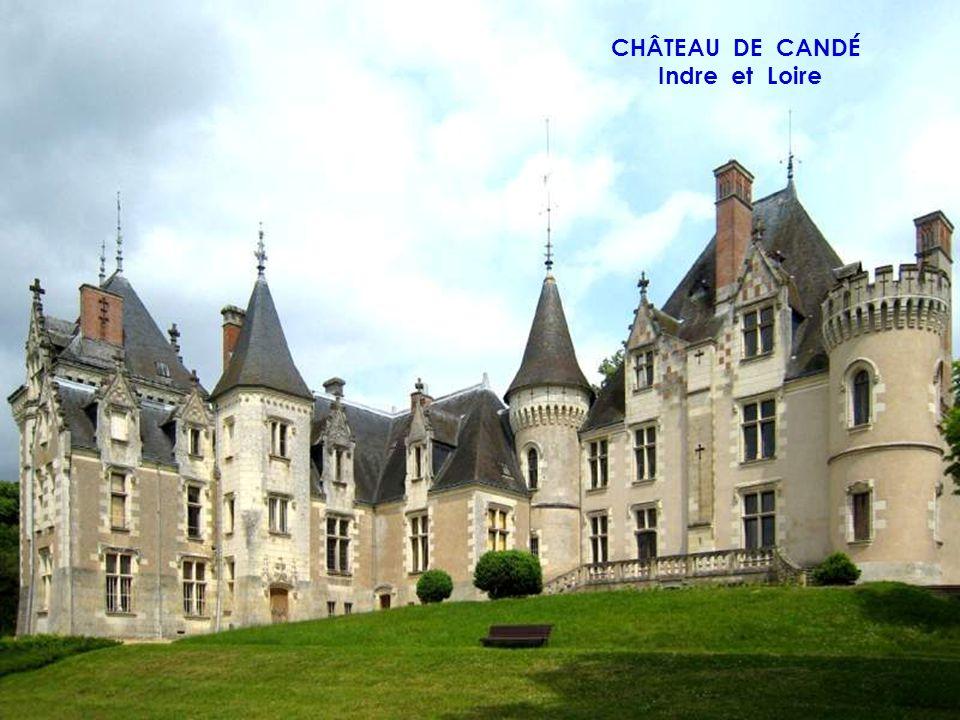 CHÂTEAU DE CHINON Indre et Loire