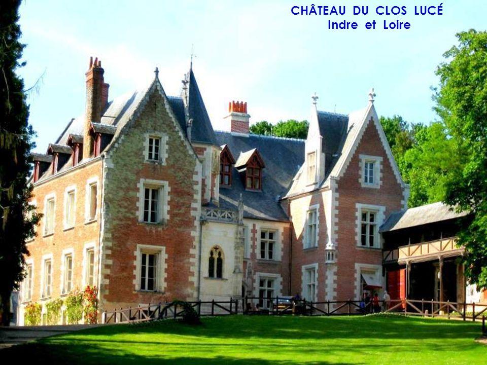CHÂTEAU DE PRAY Indre et Loire