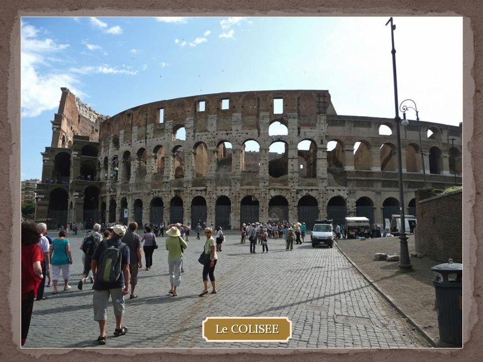 ROME ANTIQUE - Le COLISEE - Le FORUM ROMAIN - Les FORUMS IMPERIAUX -ARCS DE TRIOMPHE de Constantin, Septime-Sévère et Titus -Le CAPITOLE -La PIAZZA NA