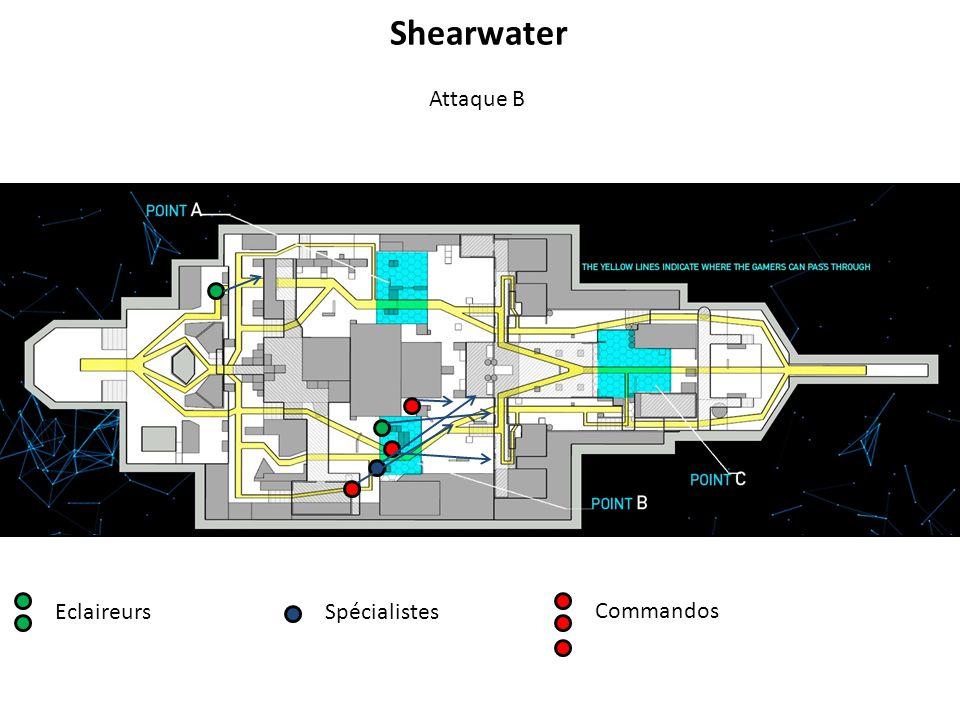 EclaireursSpécialistes Commandos Attaque B Shearwater