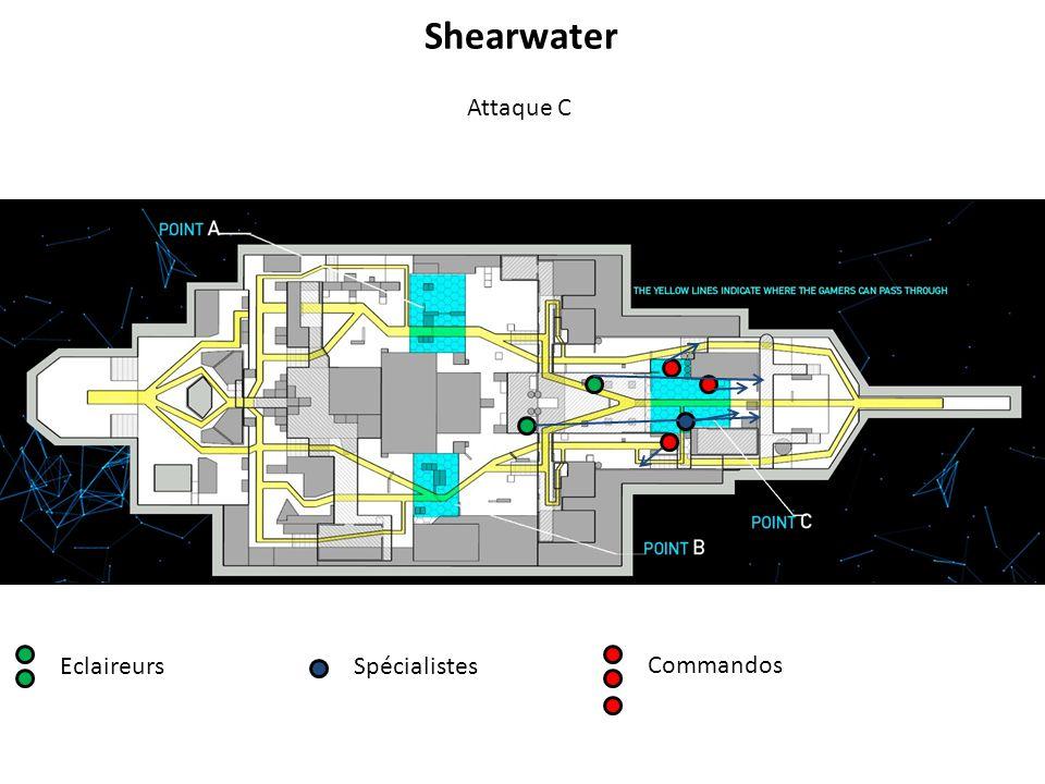 EclaireursSpécialistes Commandos Attaque C Shearwater