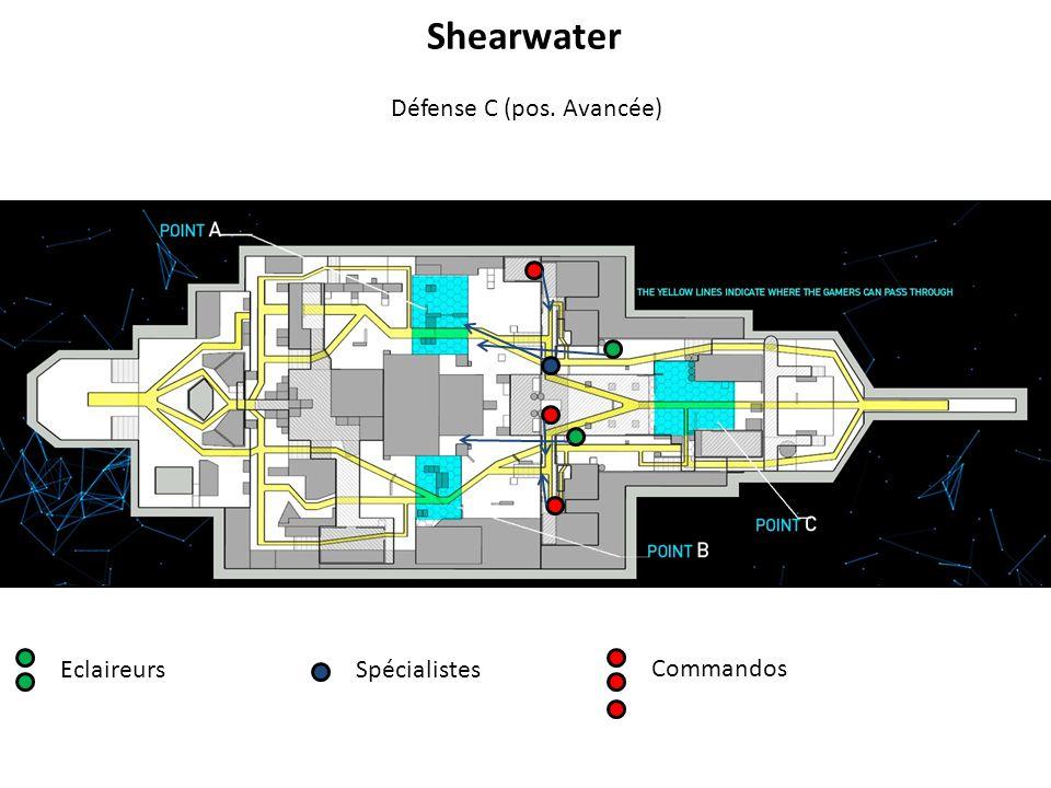 EclaireursSpécialistes Commandos Défense C (pos. Avancée) Shearwater