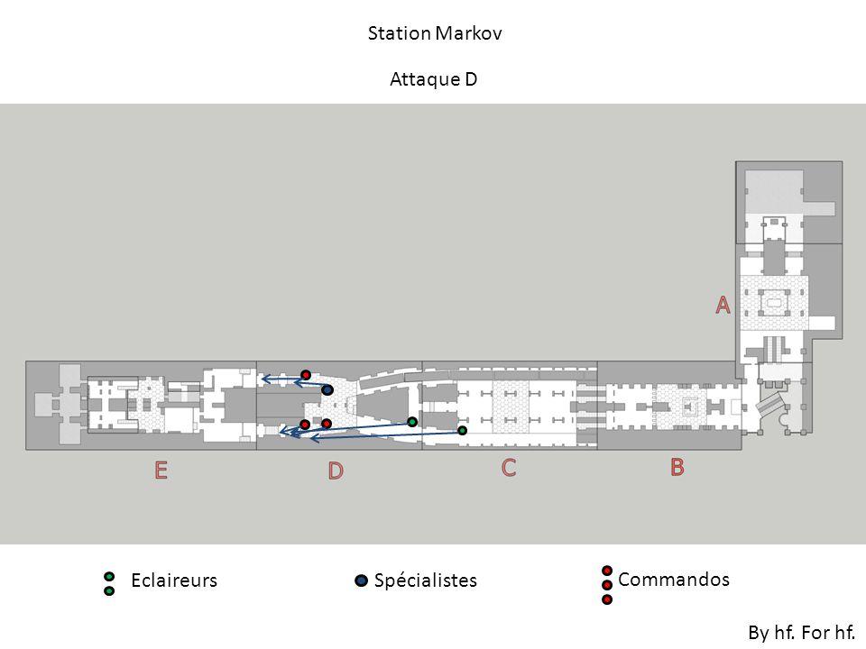 Attaque D By hf. For hf. Station Markov EclaireursSpécialistes Commandos