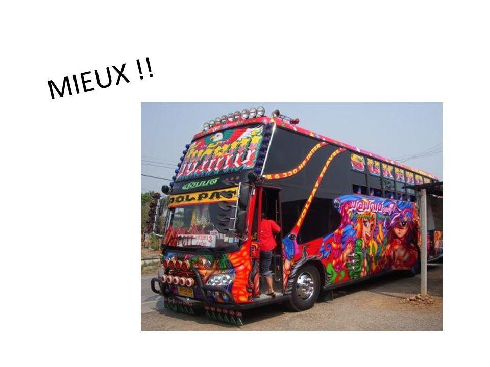 JEUDI 25 Journée road trip, ou nous allons avoir la chance de découvrir les bus locaux pendant 7h pour regagner Bangkok..