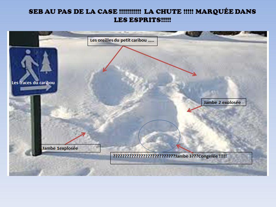 SEB AU PAS DE LA CASE !!!!!!!!!!! LA CHUTE !!!!! MARQUÉE DANS LES ESPRITS!!!!!