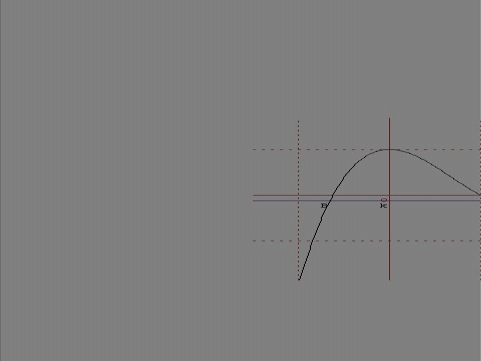 On a pris k=-0.12, on a trouvé 3 points dintersection avec la courbe B,C,D.