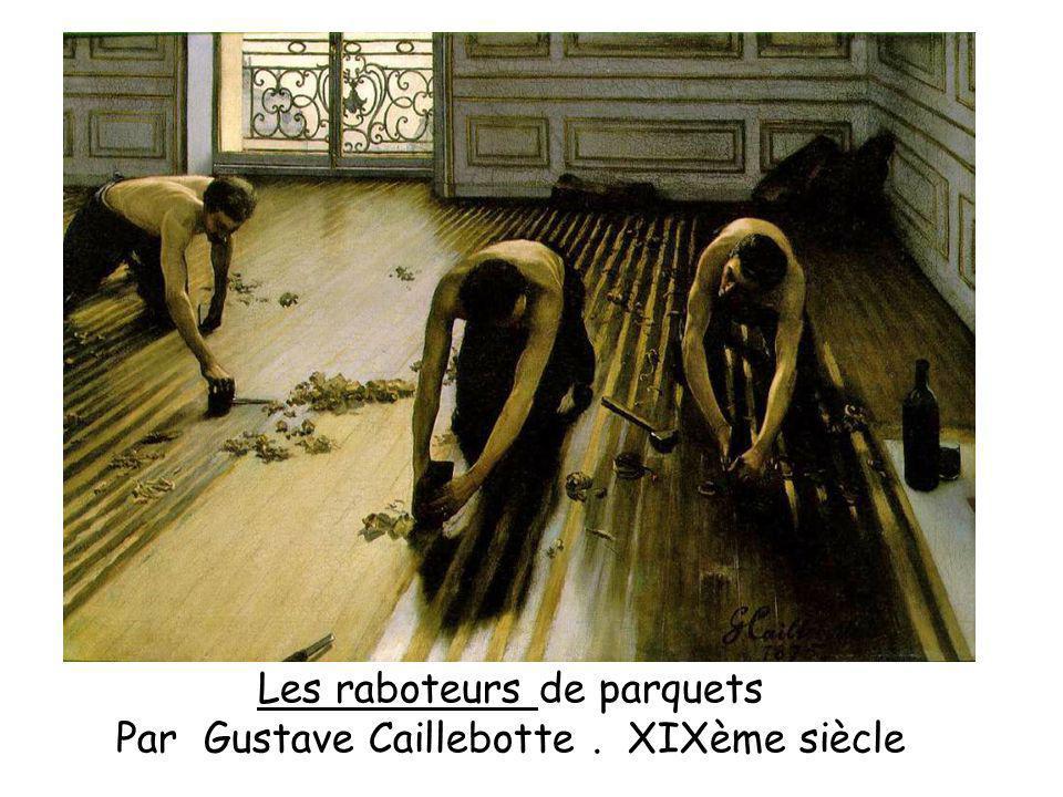 Les raboteurs de parquets Par Gustave Caillebotte. XIXème siècle
