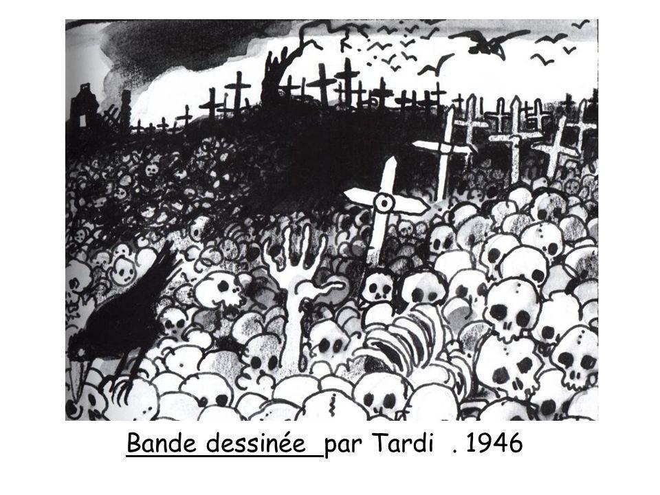 Bande dessinée par Tardi. 1946