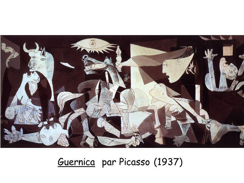 Guernica par Picasso (1937)