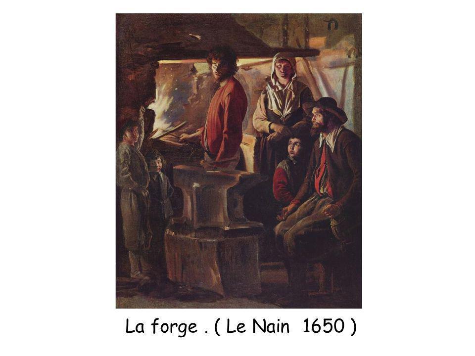 La forge. ( Le Nain 1650 )