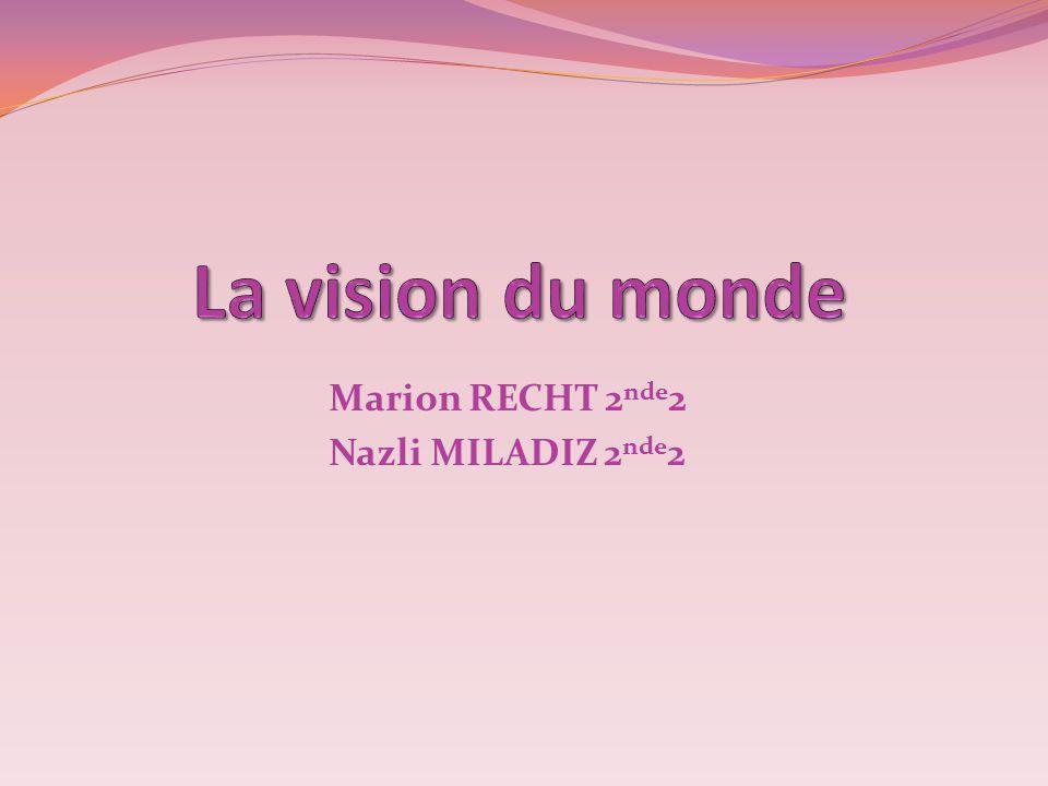Marion RECHT 2 nde 2 Nazli MILADIZ 2 nde 2