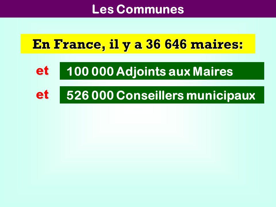 Les 101 Départements Nous avons 101 Conseils Généraux: Président du CG: 5512 Vice-président: 2129 à 3725 Membre de la commission: 1672 à 2927 Conseiller général: 1520 à 2661 Chaque Conseil Général a entre 9 et 15 vice-présidents.