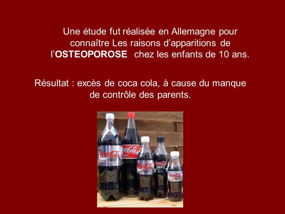Les distributeurs de coca cola lutilisent pour nettoyer les moteurs de leurs camions de plus de 20 ans.