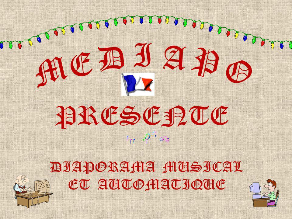 I D A E M P O PRESENTE DIAPORAMA MUSICAL ET AUTOMATIQUE