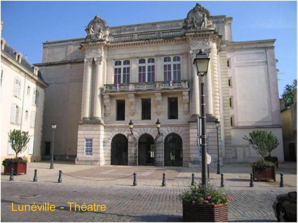 Lunéville – Parc du château