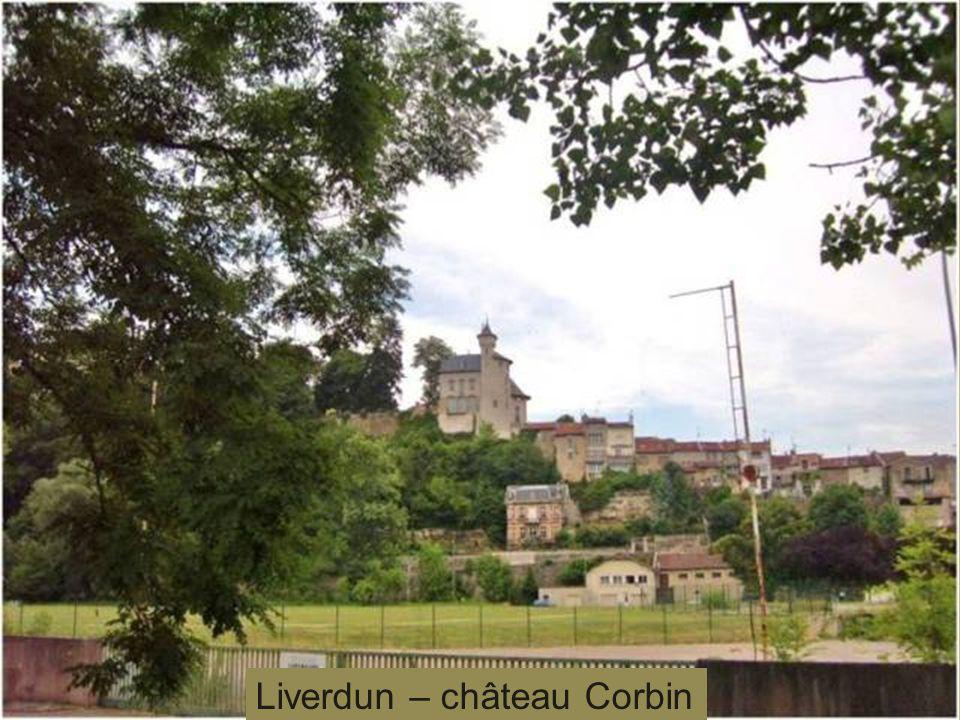Liverdun – château des Eaux Bleues