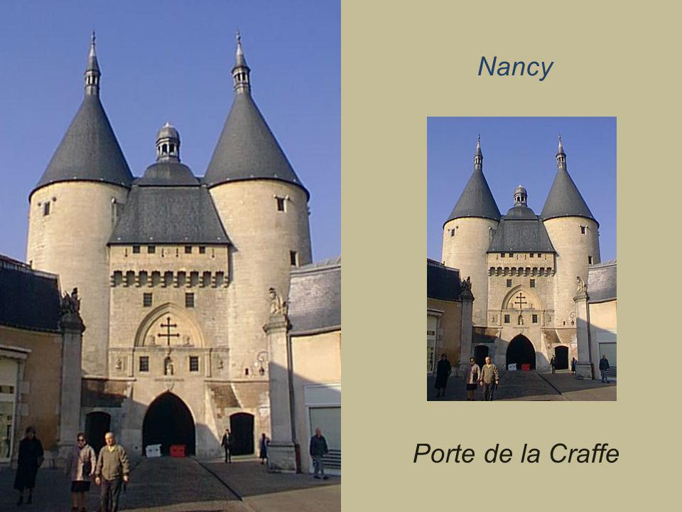 Nancy Porte de la Craffe