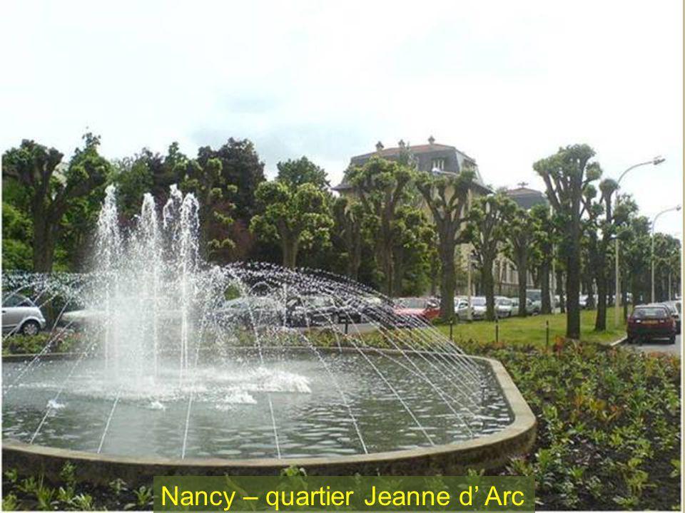 Nancy – quartier Jeanne d Arc