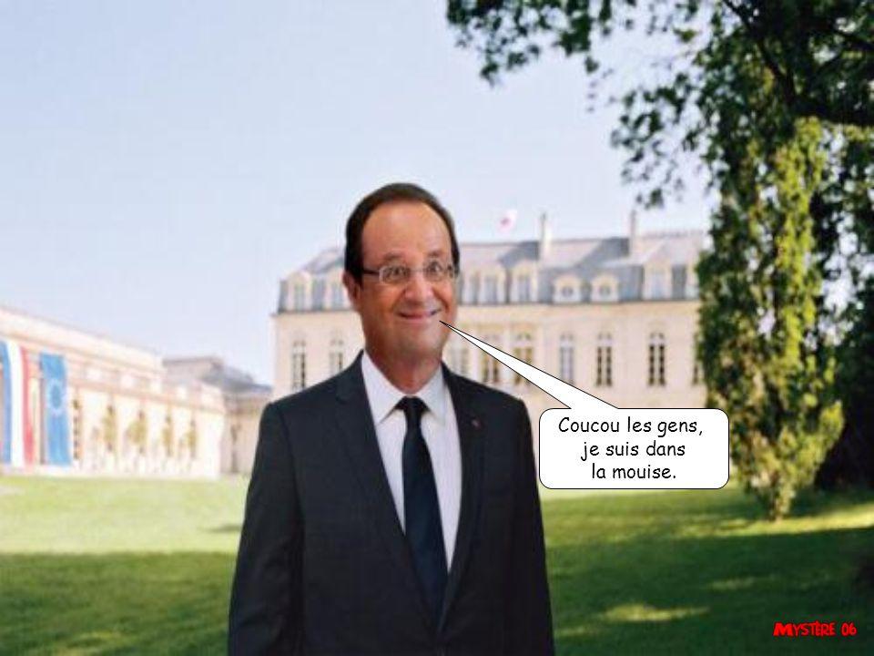 Valérie est encore mariée, donc c est MOI la première Dame de France. C est la meeerde.