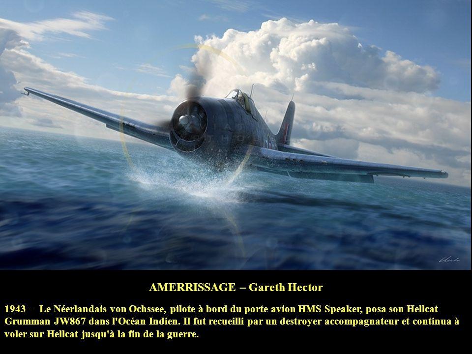 LES REQUINS DU DÉSERT - Heinz Krebs Des chasseurs CURTISS P-40 du 325ème FighterGroup, de la 12ème AIRFORCE, attaquent une colonne de chars allemands
