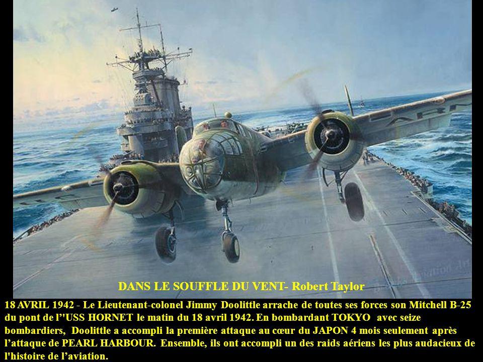 JE NE PEUX PAS PARLER MAINTENANT …… JE DOIS TIRER Dan Zoernig 7 JUILLET 1944 – Le Capitaine 'Bud' Anderson, du 357 groupe de chasse, surprend trois Me